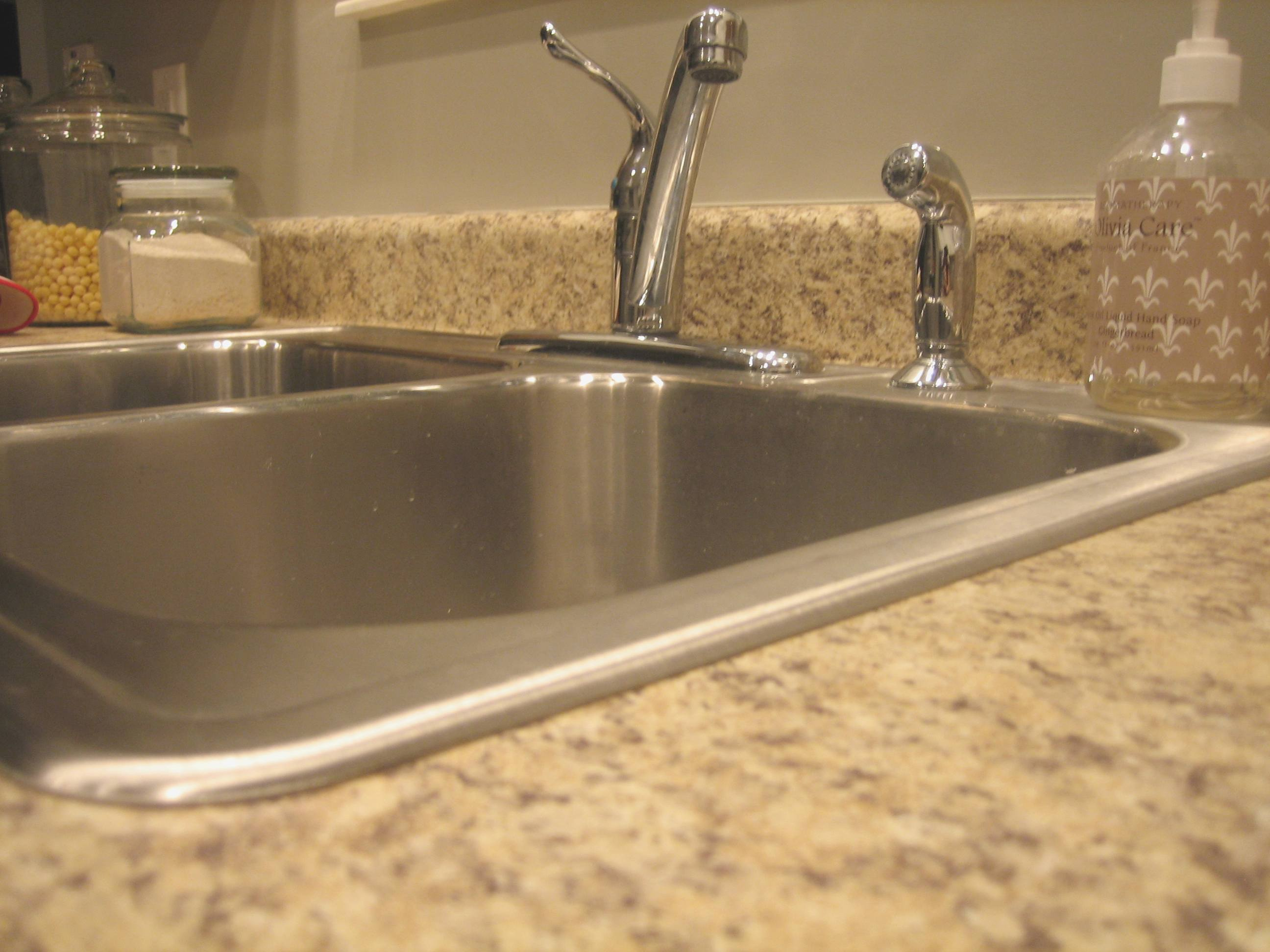 kitchen sinks with granite countertops house tweaking 8601