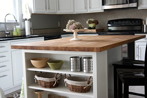 Ikea Wood Kitchen Countertops house*tweaking