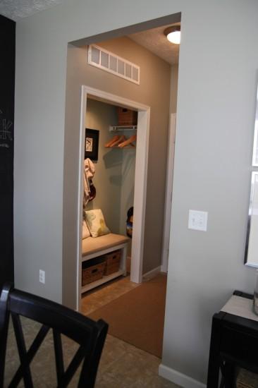 Remove Foyer Closet : House tweaking