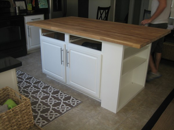Delighful Simple Kitchen Island Is How Our Has In Inspiration
