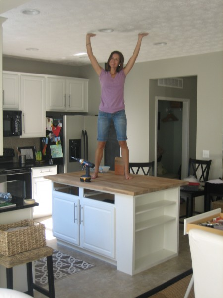Kitchen Island Diy house*tweaking
