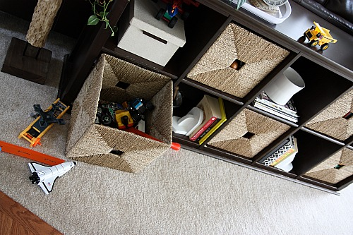 Living Room Toy Storage house*tweaking