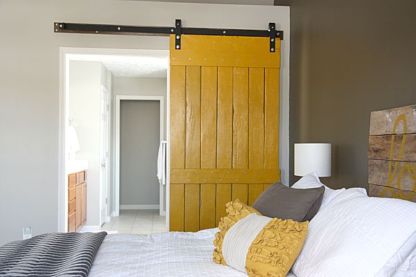 whisperwood cottage wwc wish list mustard colored barn door