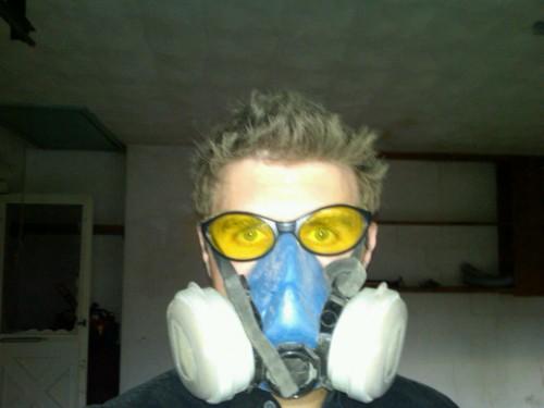 Handy Hubby w/respirator