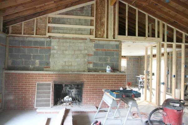 no scaffolding mantel