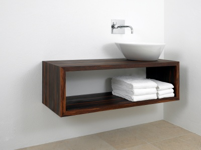 Bathroom Sink Vanities on That A Floating Vanity Might Work Well In Our Small Master Bathroom