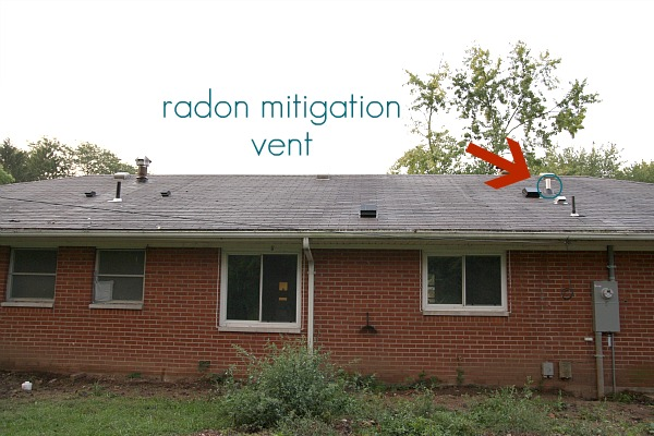 Also New To The Roof Is A Vent For The Radon Mitigation System That We Had  Installed. {The House Failed Radon Testing Upon Inspection.} If Youu0027ll  Remember, ...