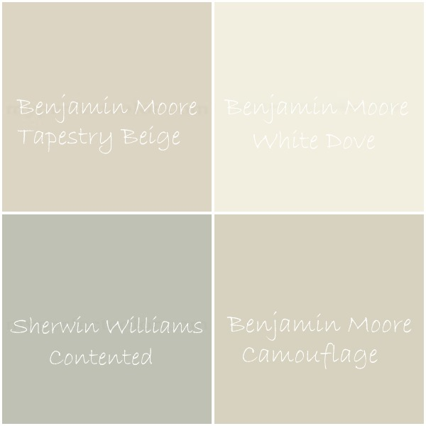 house tweaking ForBeige White Paint Color