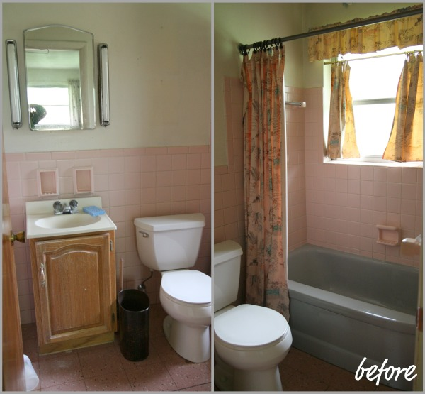 the underdogs original 1950s - 1950s Bathroom Remodel Before And After