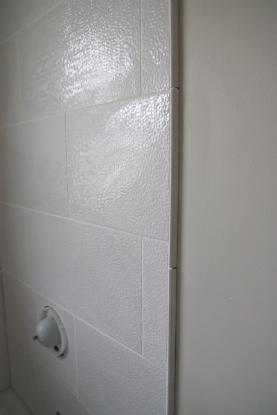 Amazing HH Also Finished Up The Trim Along The Showeru0027s Edge.