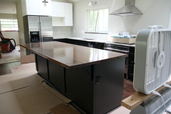 Kitchen Island Overhang house*tweaking