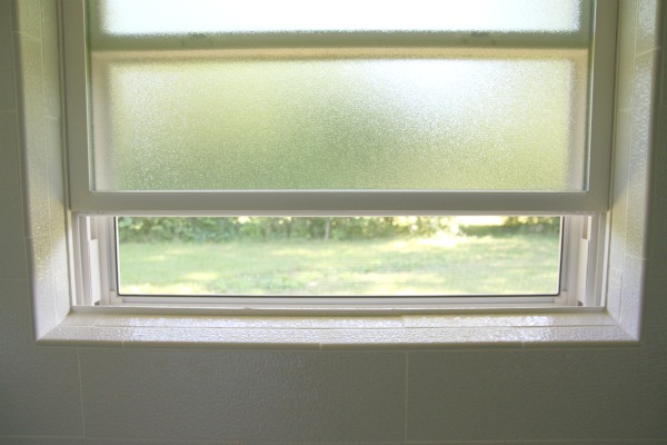 I Open The Shower Window ...