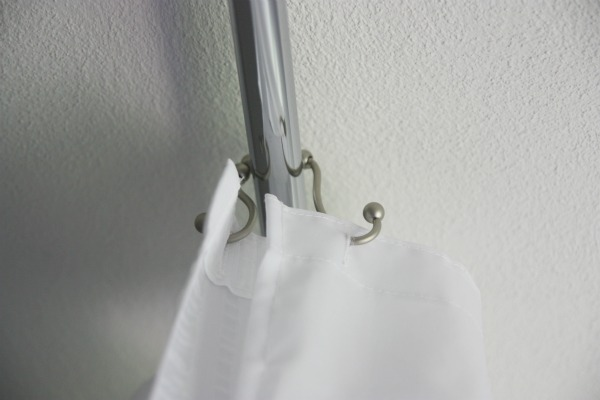 How high to hang a fabric shower curtain.? - Yahoo! Answers