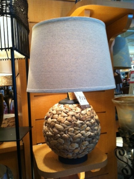 This Seagrass Table Lamp Also Caught My Eye In The Lighting Section. I  Loved The Chunky Seagrass Mixed With The Matte Black Hardware And Linen  Shade.