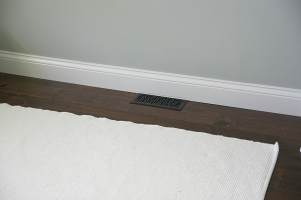 House tweaking for Mid century modern baseboard