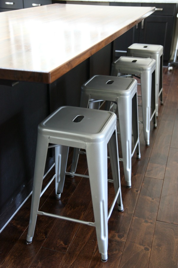 Charming Industrial Kitchen Stools Part - 4: What ...