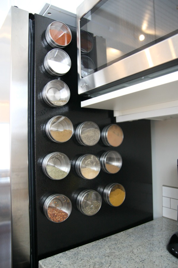 House tweaking for Ikea grundtal spice rack