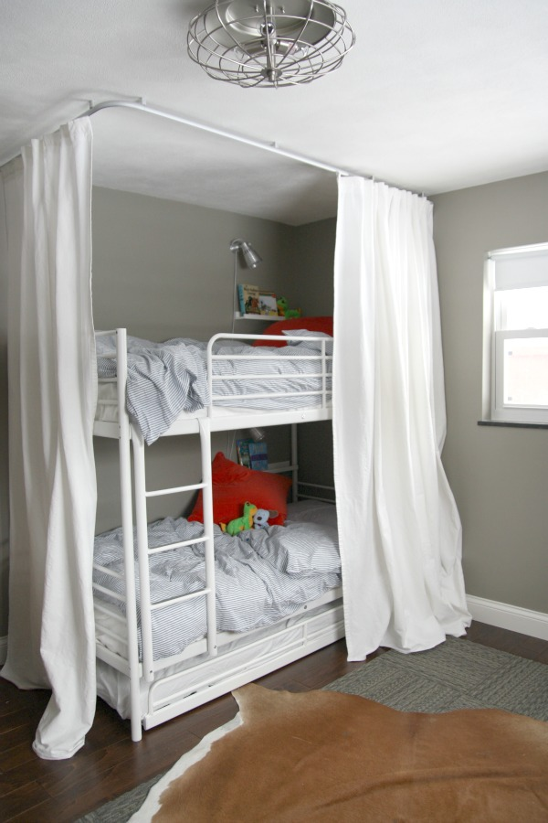 bunk bed curtains ikea the curtains are four lenda
