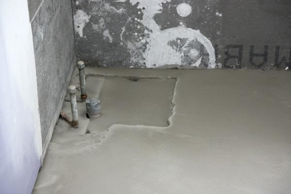 HOUSETWEAKING - Leveling bathroom floor