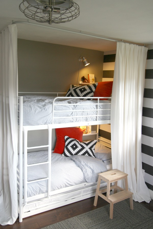 House tweaking - Ikea bunk bed room ideas ...