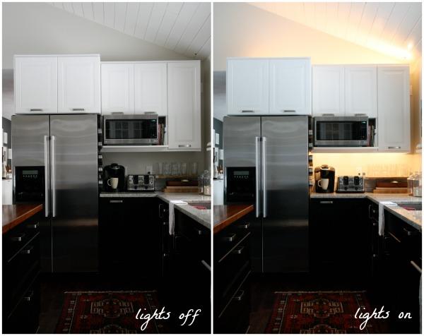 cabinet lights kitchen