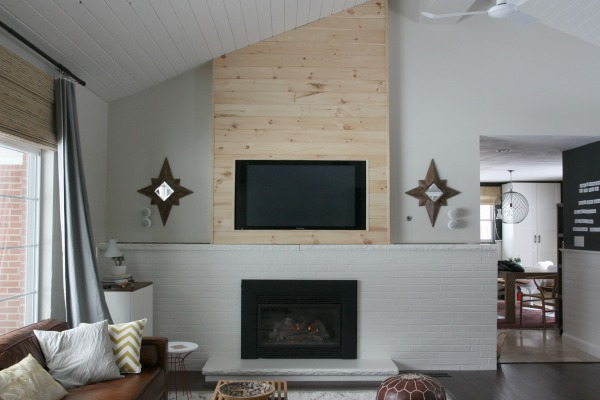 Tongue And Groove Fireplace Surround Fireplaces