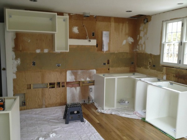 ikea cape kitchen install