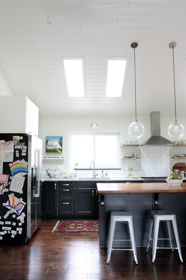 vaulted kitchen 3