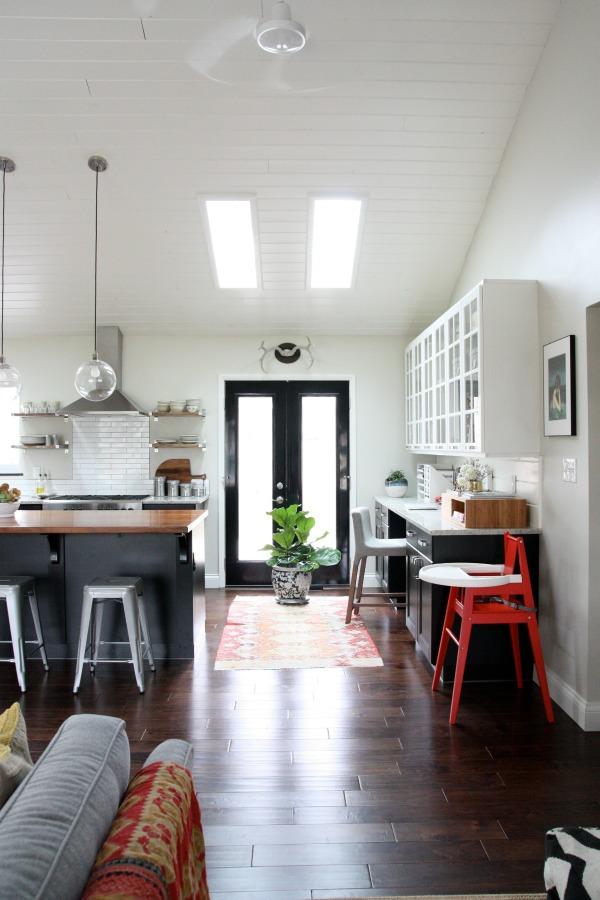 vaulted kitchen 4