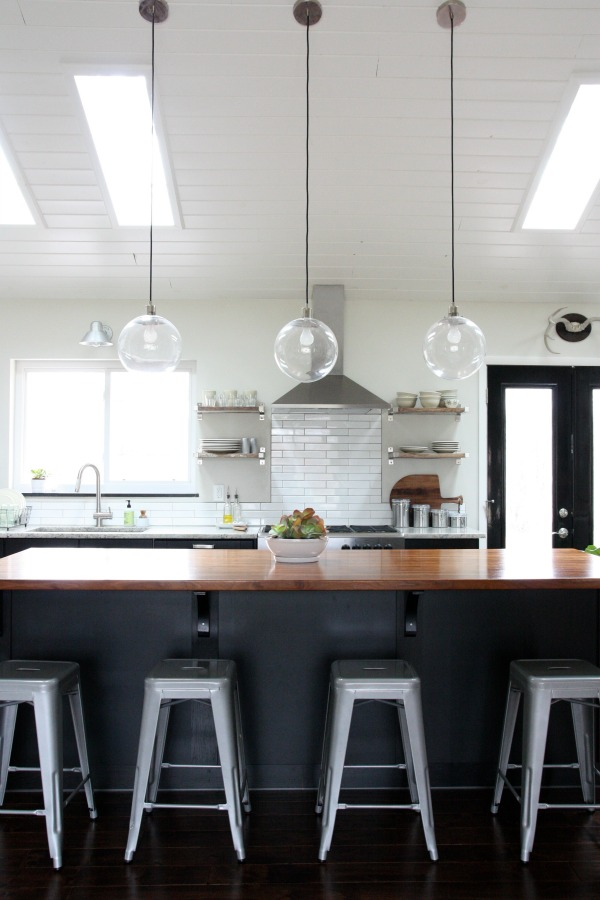 vaulted kitchen 6