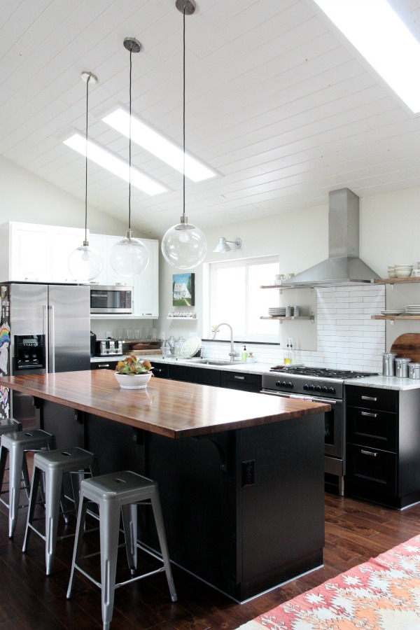vaulted kitchen 7