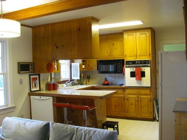 chesapeake ikea kitchen before