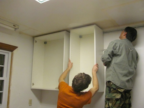 House tweaking - Ikea corner cabinet door installation ...