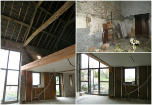 french barn before