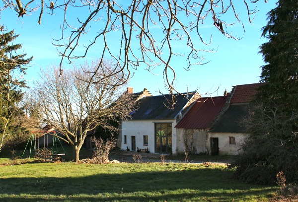 french barn turned guesthouse