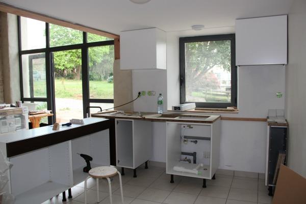 ikea barn kitchen install 3