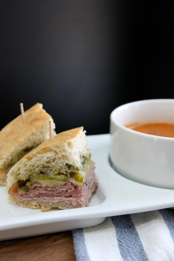 pesto sandwich 2