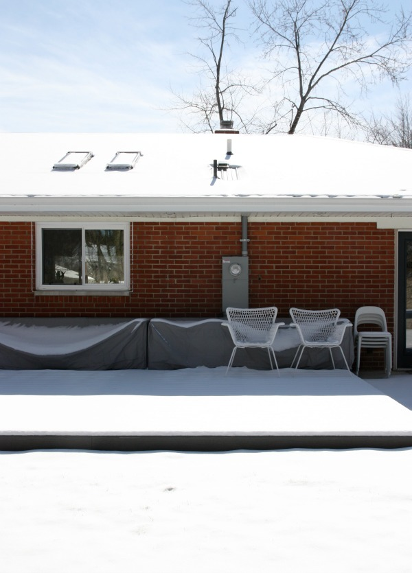 snow covered outdoor furniture 1