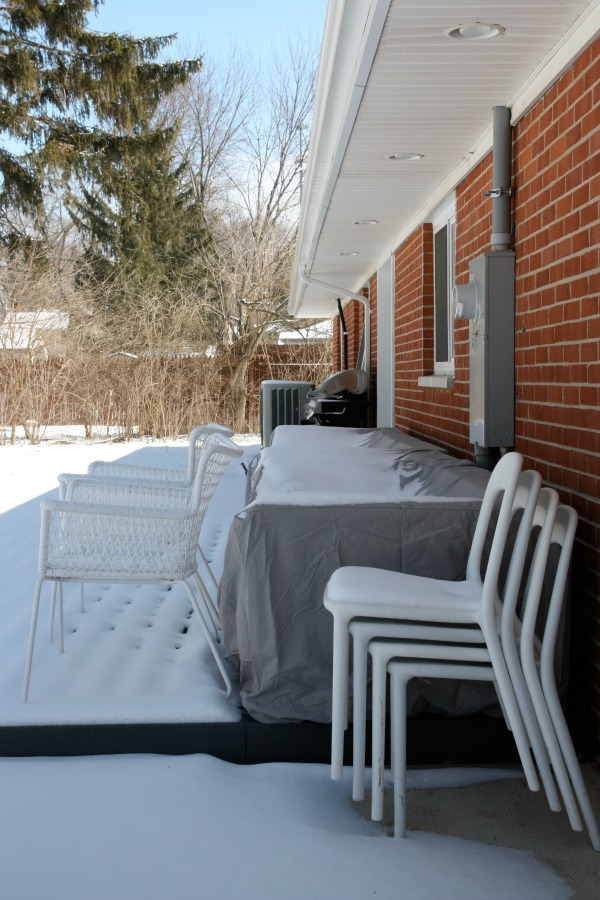 snow covered outdoor furniture 2