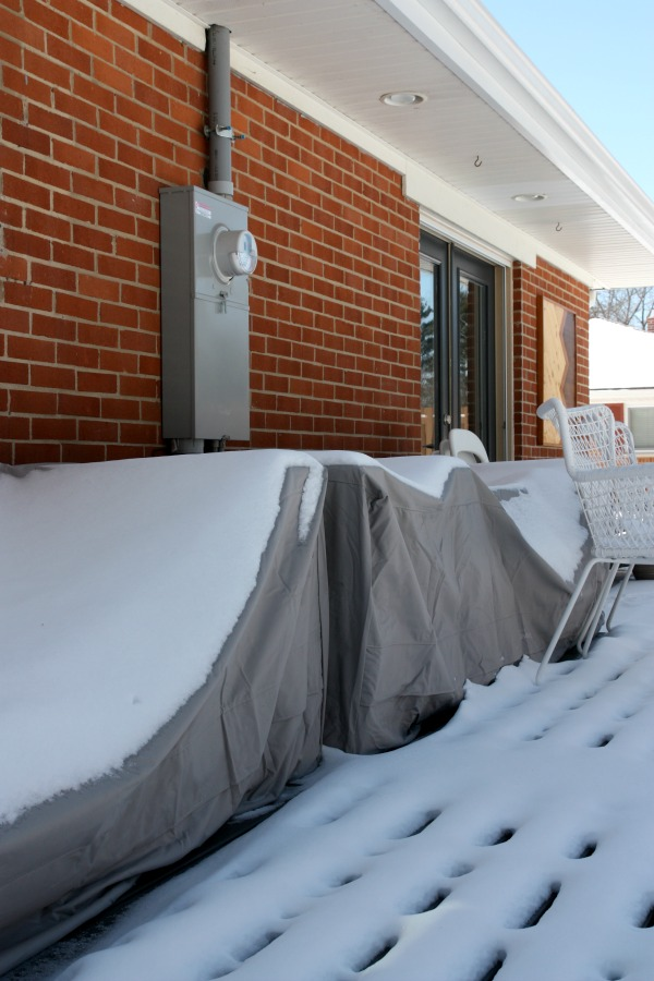 snow covered outdoor furniture 3