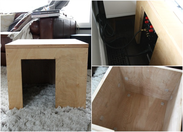 subwoofer cover DIY