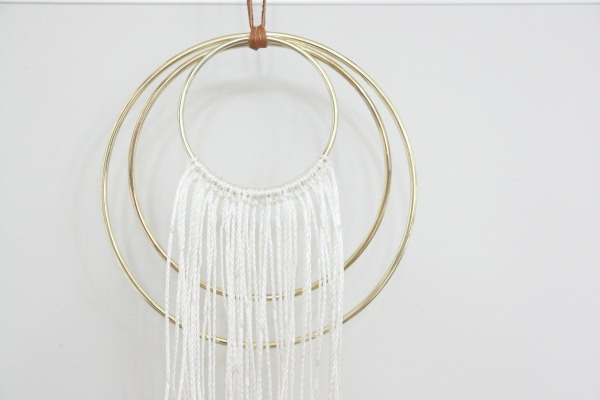 DIY dream catcher 5