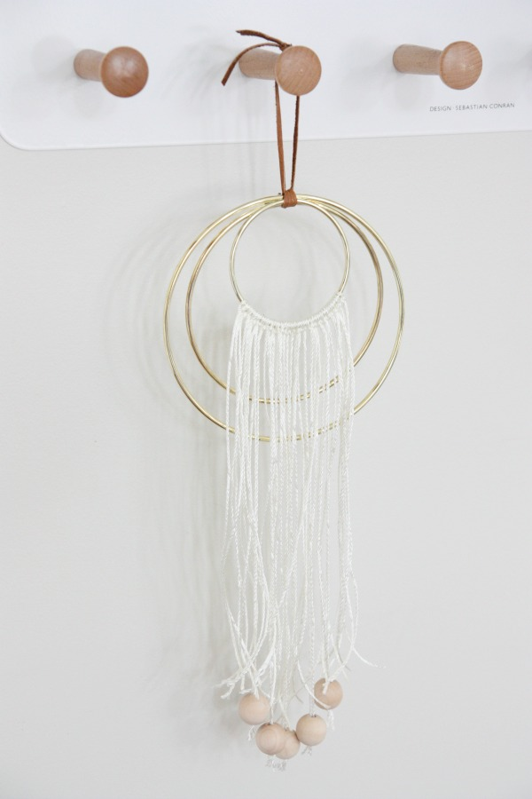 DIY dream catcher 7