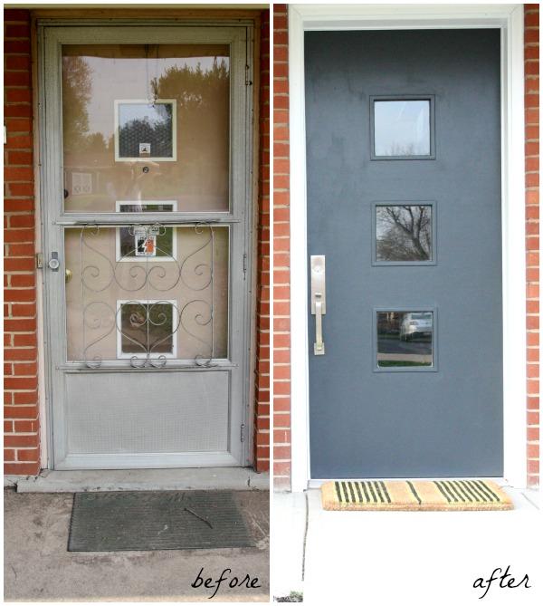 exterior entry b&a