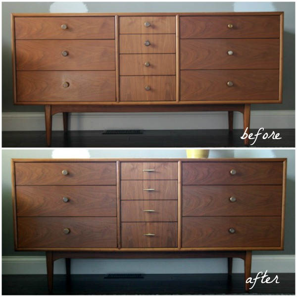 subtle dresser before and after