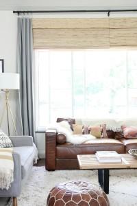 living room peek