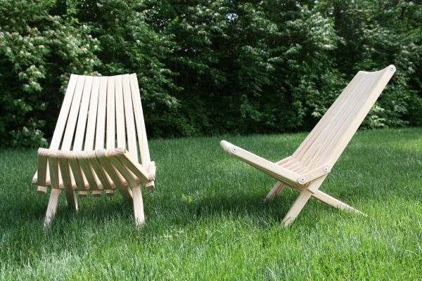 slat chairs unfinished