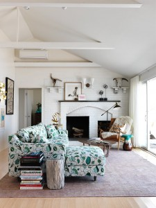 effortless style in a beach house