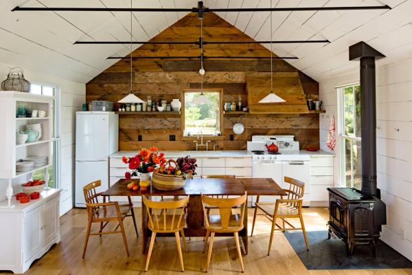 wood walls, floors