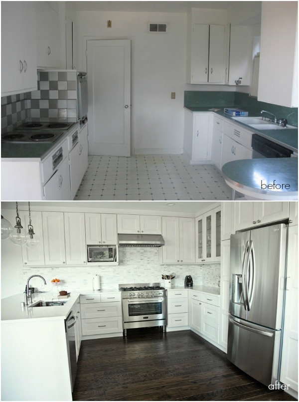 delightful Ikea Kitchen Remodel Before And After #5: ReLocated ikea kitchen bu0026a